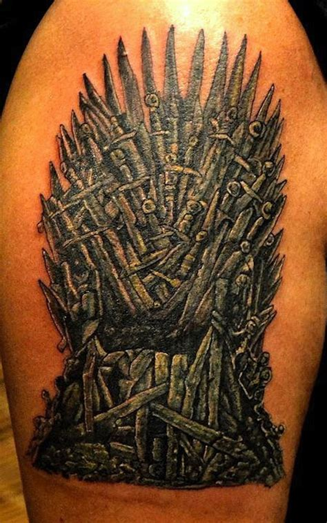 34 Best Game Of Thrones Tribute Tattoos - TattooBlend