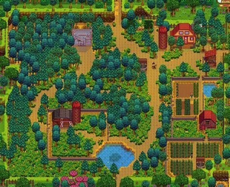 Farm layouts - Stardew Valley | The Lost Noob