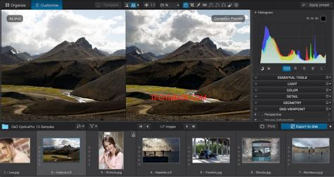 DxO Optics Pro 11 for Mac and PC Serial Key For Free Download