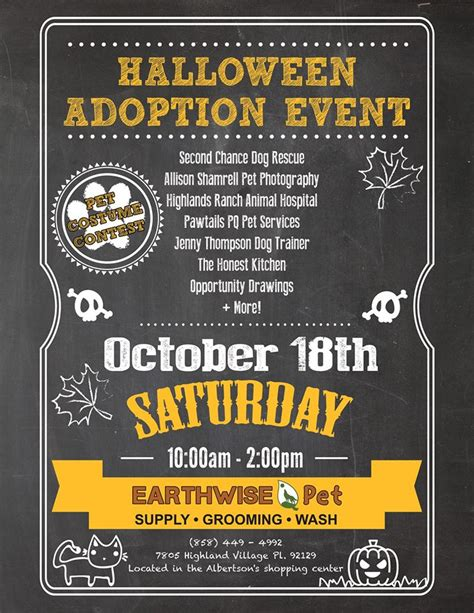 Halloween Party & Adoption Event For Second Chance Dog