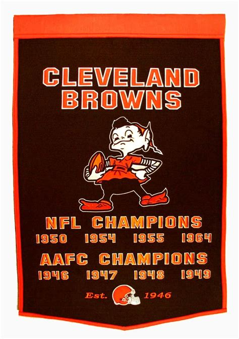 Cleveland Browns Championship Years |