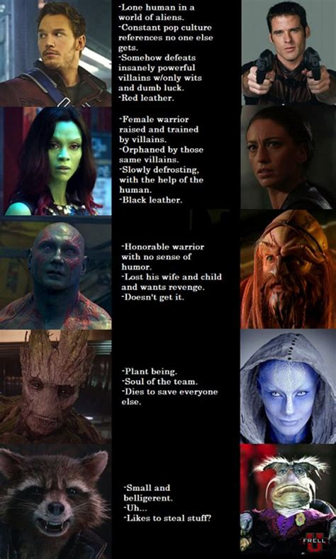 Why Guardians of the Galaxy is Just Like Farscape | JPEGY
