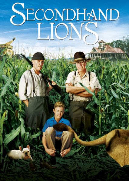 Is 'Secondhand Lions' available to watch on Netflix in