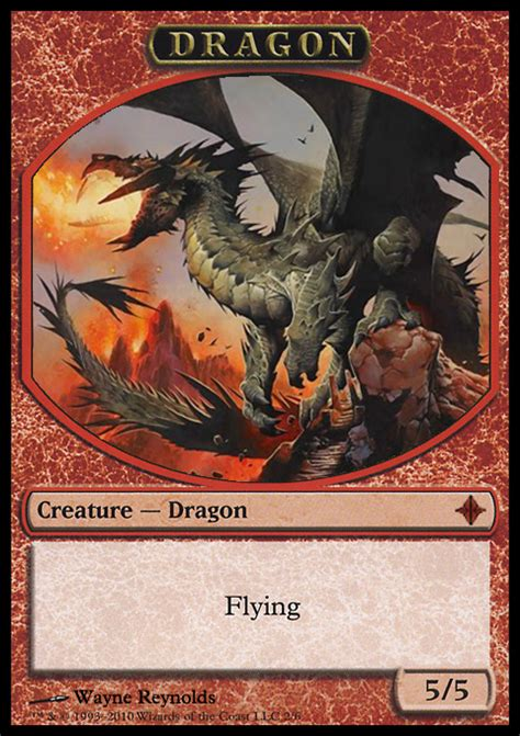 Sarkhan the Mad Dragon Tokens   Fatties Combos Proxies