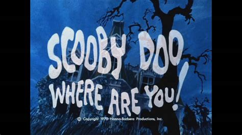 Scooby Doo Theme Song 1970 (HQ) - YouTube