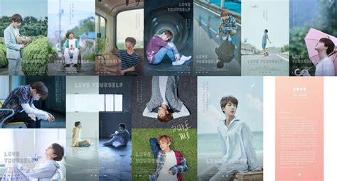 BTS Love Yourself Posters Translation And Details