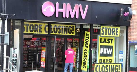 Full list of 27 HMV stores closing - find out if your