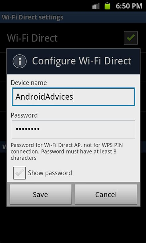 Use Galaxy S2 Wifi Direct Feature for High Speed Data Transfer