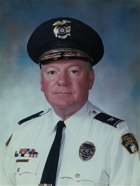 Memorial Service Set for Former Montgomery Police Chief