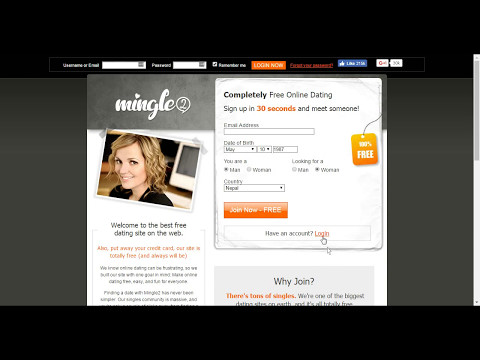 Free Dating Site - Mingle2 dating site registration free
