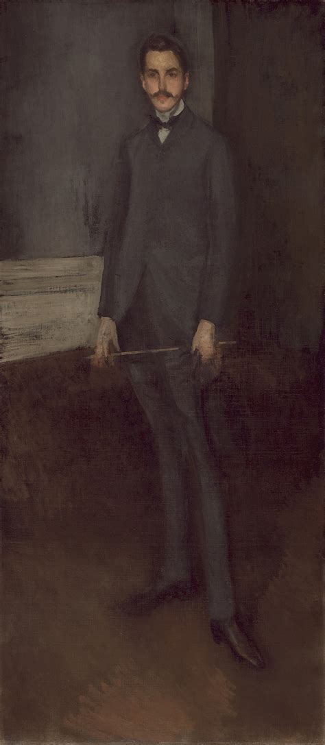 James McNeill Whistler - Portrait of George W