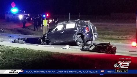 Woman killed in rollover crash on I-10, Ralph Fair Road