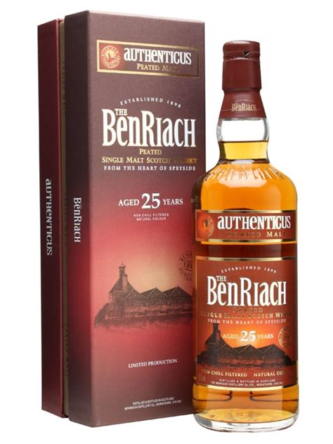 Benriach 25 Year Old - Authenticus Peated Malt Scotch