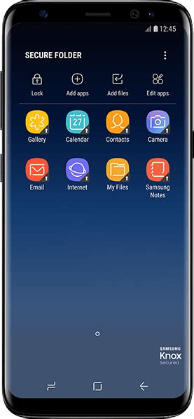 What is Secure Folder on Galaxy S9, Galaxy S9+, and Galaxy