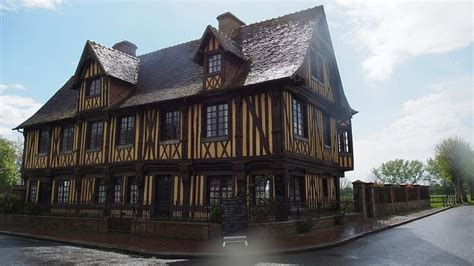 Pays d'Auge - Normandie | House styles, Mansions, Building