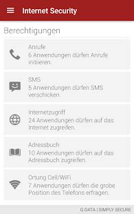 G DATA Mobile Security Light – Apps bei Google Play