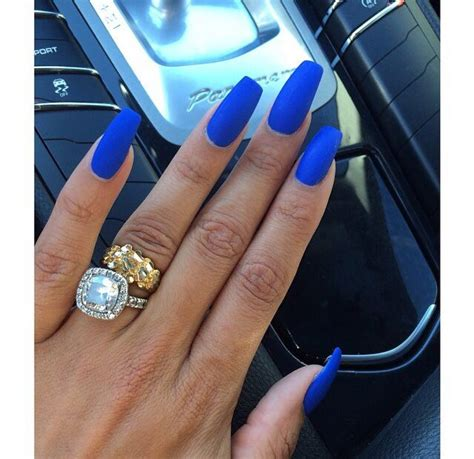Long Blue Nails Pictures, Photos, and Images for Facebook