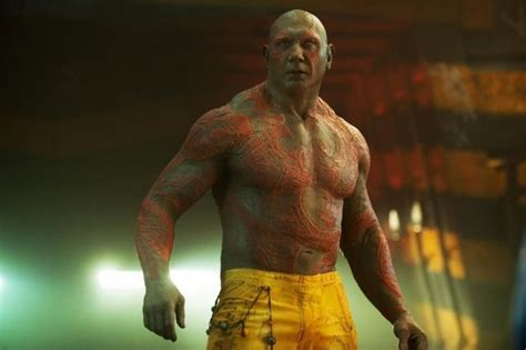 Guardians Of The Galaxy 2: Dave Bautista's Drax is going