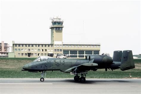 File:A-10A 81st TFW at Sembach AB 1982