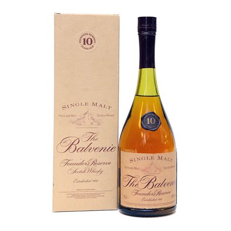 Balvenie 10 Year Old - Founder's Reserve - Cognac Style