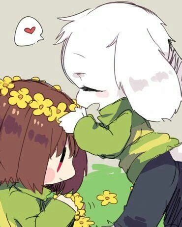Pin on Chara and Asriel