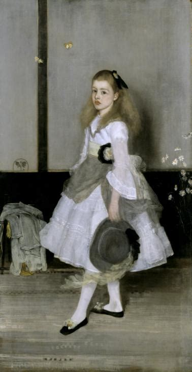 'Harmony in Grey and Green: Miss Cicely Alexander', James
