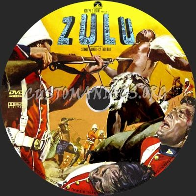 Zulu dvd label - DVD Covers & Labels by Customaniacs, id
