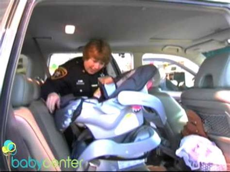 How to Install an Infant Car Seat - YouTube