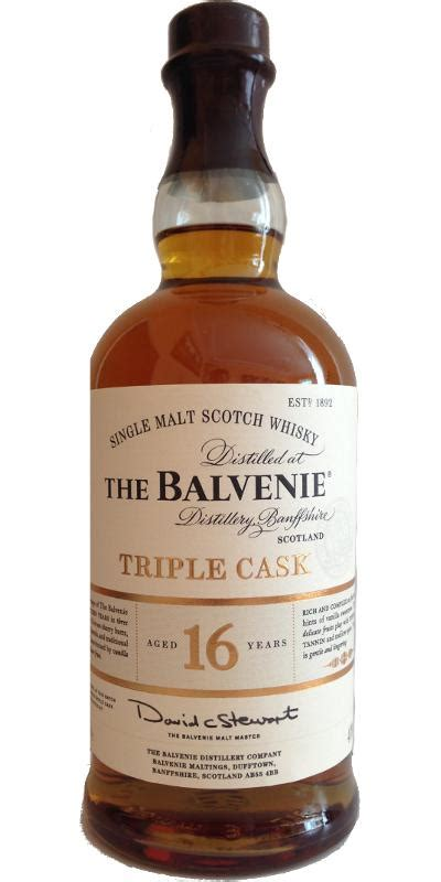 Balvenie 16-year-old - Ratings and reviews - Whiskybase