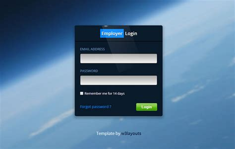 65+ Attractive HTML CSS Login Form Templates - Page 5 of 7