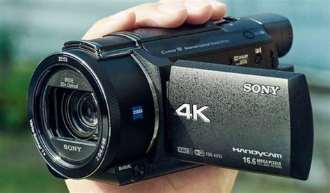 Sony FDR-AX53 4K HD Camcorder Review - Nerd Techy