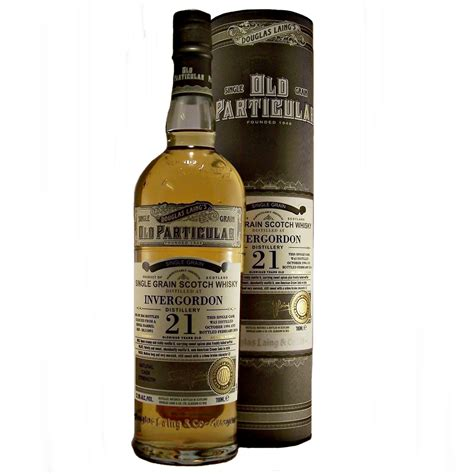Invergordon Old Particular 21 year old Single Grain Whisky