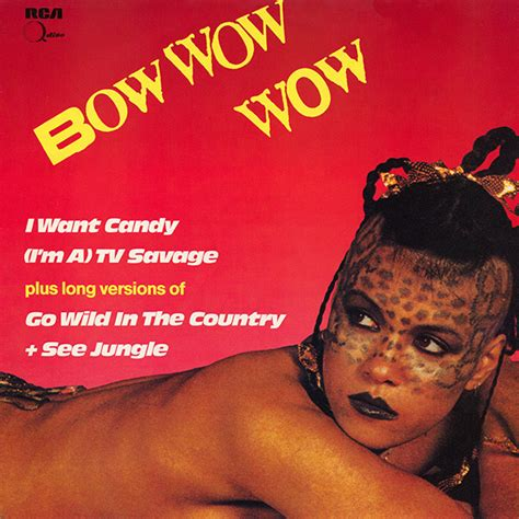 Bow Wow Wow - I Want Candy (1982, Vinyl)   Discogs