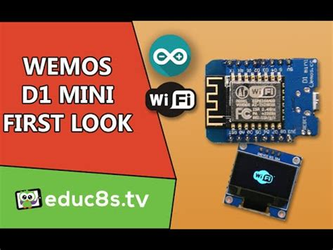 Wemos D1 mini: A first look at this ESP8266 based board
