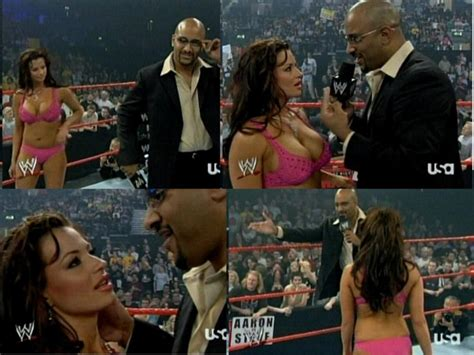 HOTTEST DIVAS: Candice Michelle and Viscera scenes from