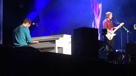 Ed Sheeran with Chris Martin - Thinking Out Loud @ The